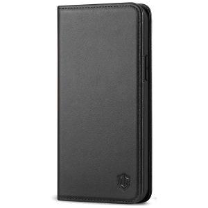 SHIELDON iPhone 12 Max Wallet Case - iPhone 12 Pro 6.1-inch Folio Leather Case - Black