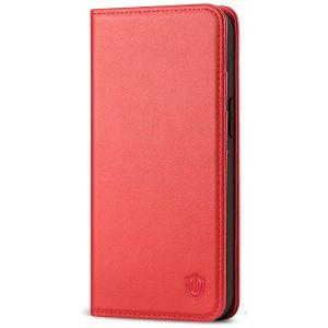 SHIELDON iPhone 12 Wallet Case - iPhone 12 5.4 Folio Case - Red