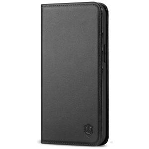 SHIELDON iPhone 13 Mini Wallet Case, iPhone 13 Mini 5.4-Inch Leather Cover, Genuine Leather, RFID Blocking, Book Folio Flip Kickstand, Magnetic Closure for Mini iPhone 13 5.4-inch 5G