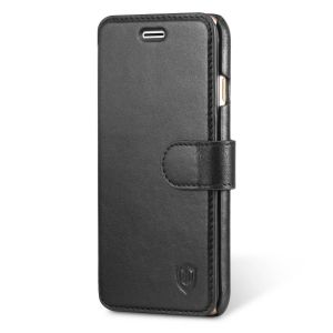 SHIELDON iPhone 6S Genuine Leather Wallet Card Holder Case