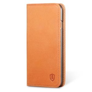 SHIELDON iPhone 6 Leather Book Flip Genuine Case