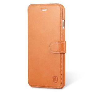 SHIELDON iPhone 6 Plus Genuine Flip Phone Case Wallet Case