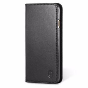 SHIELDON iPhone 7 Genuine Leather Folio Book Wallet Phone Case