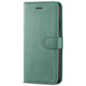 TUCCH iPhone XR Wallet Case - iPhone XR Leather Cover - Myrtle Green