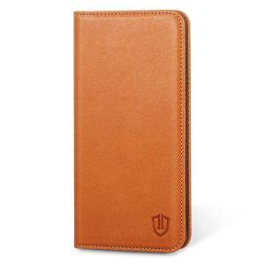 SHIELDON Galaxy Note 5 Genuine Leather Wallet Case