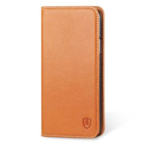 SHIELDON Galaxy S5 Genuine Leather Wallet Case