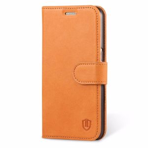 SHIELDON Galaxy S7 Genuine Leather Book Case