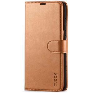 TUCCH SAMSUNG GALAXY A52 Wallet Case, SAMSUNG A52 Flip Case 6.5-inch - Light Brown