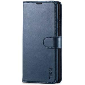 TUCCH SAMSUNG GALAXY A72 Wallet Case, SAMSUNG A72 Flip Case 6.7-inch - Blue