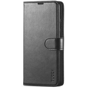 TUCCH SAMSUNG GALAXY A72 Wallet Case, SAMSUNG A72 Flip Case 6.7-inch - Black