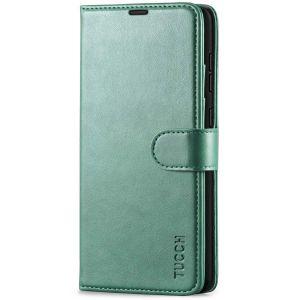 TUCCH SAMSUNG GALAXY A72 Wallet Case, SAMSUNG A72 Flip Case 6.7-inch - Myrtle Green