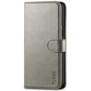 TUCCH iPhone 11 Pro Wallet Case with Strap, iPhone 11 Pro Stand Case with Card Holder - Grey