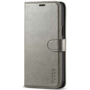 TUCCH iPhone 12 Wallet Case, iPhone 12 Pro Case, iPhone 12 / Pro 5G 6.1-inch Flip Case - Grey