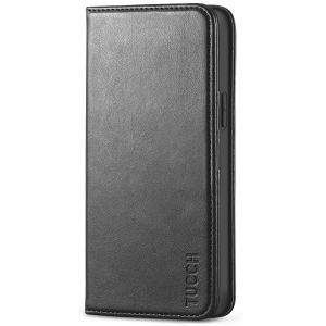 TUCCH iPhone 12 Wallet Case, iPhone 12 Pro Wallet Case, Flip Cover with Stand, Credit Card Slots, Magnetic Closure for iPhone 12 / Pro 6.1-inch 5G Black