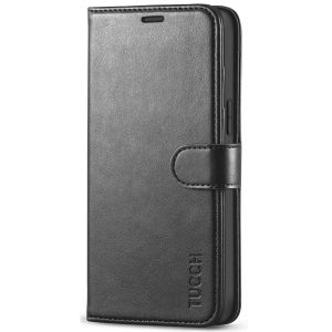 TUCCH iPhone 12 Pro Max Wallet Case, iPhone 12 Pro Max 6.7-inch Flip Case - Black