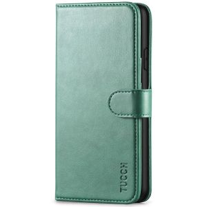 TUCCH iPhone XS Max Wallet Case - iPhone XS Max Leather Cover-Myrtle Green