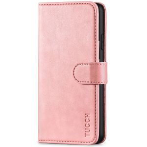 TUCCH iPhone XS Max Wallet Case - iPhone XS Max Leather Cover-Rose Gold