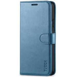 TUCCH iPhone XR Wallet Case - iPhone XR Leather Cover - Lake Blue