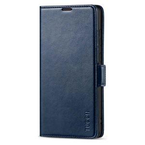 TUCCH SAMSUNG Galaxy S21 Ultra Wallet Case, SAMSUNG S21 Ultra Flip Case 6.8-inch - Dark Blue