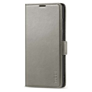 TUCCH SAMSUNG Galaxy S21 Ultra Wallet Case, SAMSUNG S21 Ultra Flip Case 6.8-inch - Grey