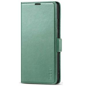 TUCCH SAMSUNG Galaxy S21 Ultra Wallet Case, SAMSUNG S21 Ultra Flip Case 6.8-inch - Myrtle Green