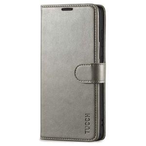 TUCCH SAMSUNG GALAXY S20FE Wallet Case, SAMSUNG S20FE Flip Case 6.5-inch - Grey