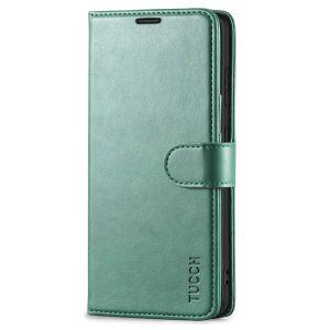 TUCCH SAMSUNG GALAXY S20FE Wallet Case, SAMSUNG S20FE Flip Case 6.5-inch - Myrtle Green