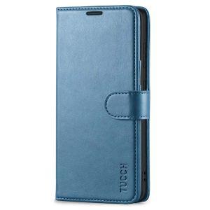 TUCCH SAMSUNG GALAXY S20FE Wallet Case, SAMSUNG S20FE Flip Case 6.5-inch - Lake Blue