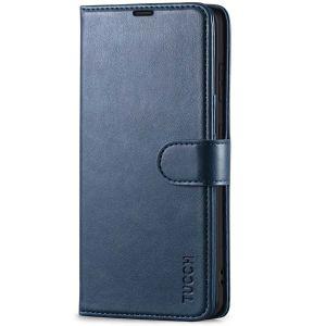 TUCCH SAMSUNG GALAXY S21 Wallet Case, SAMSUNG S21 Flip Case 6.2-inch - Blue