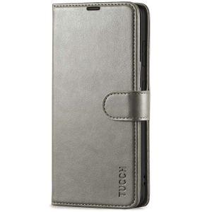 TUCCH SAMSUNG GALAXY S21 Wallet Case, SAMSUNG S21 Flip Case 6.2-inch - Grey