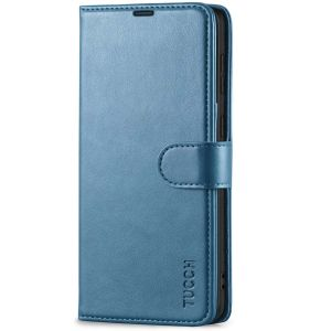 TUCCH SAMSUNG GALAXY S21 Wallet Case, SAMSUNG S21 Flip Case 6.2-inch - Lake Blue