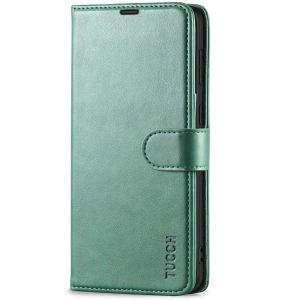 TUCCH SAMSUNG GALAXY S21 Wallet Case, SAMSUNG S21 Flip Case 6.2-inch - Myrtle Green