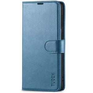 TUCCH SAMSUNG GALAXY S21 Plus Wallet Case, SAMSUNG S21 Plus Flip Case 6.7-inch - Lake Blue