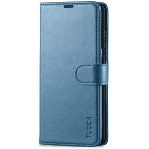 TUCCH SAMSUNG GALAXY A52 Wallet Case, SAMSUNG A52 Flip Case 6.5-inch - Lake Blue