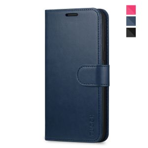 TUCCH Samsung Galaxy S8 Wallet Case With Magnetic Clasp, Foldable Kickstand Feature