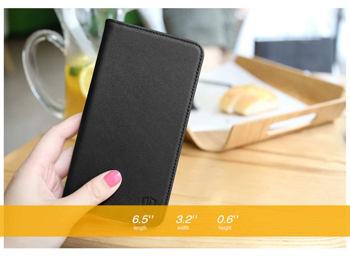 SHIELDON iPhone 6 Plus Folio Case