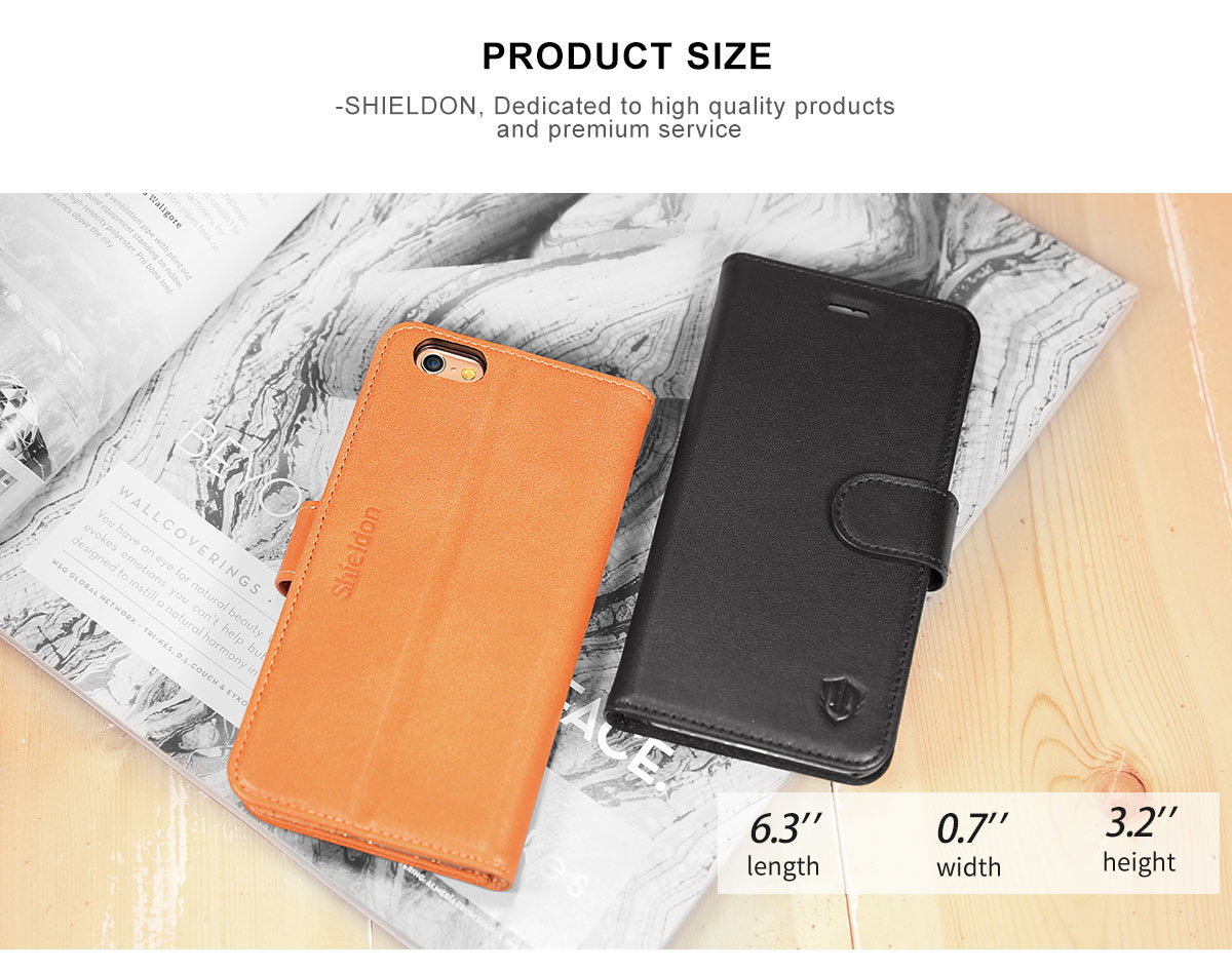 SHIELDON iPhone 6 Plus Genuine Case