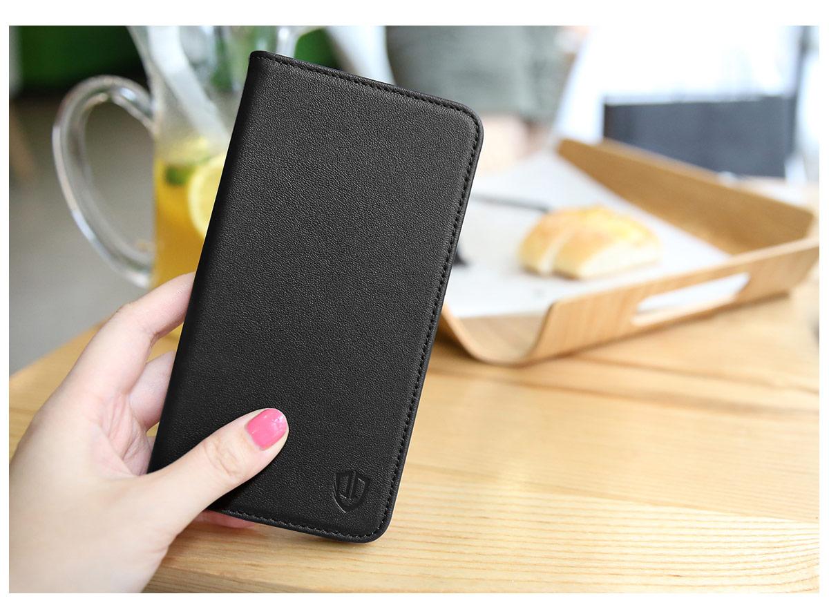 SHIELDON Galaxy S8 Genuine Leather Wallet Case