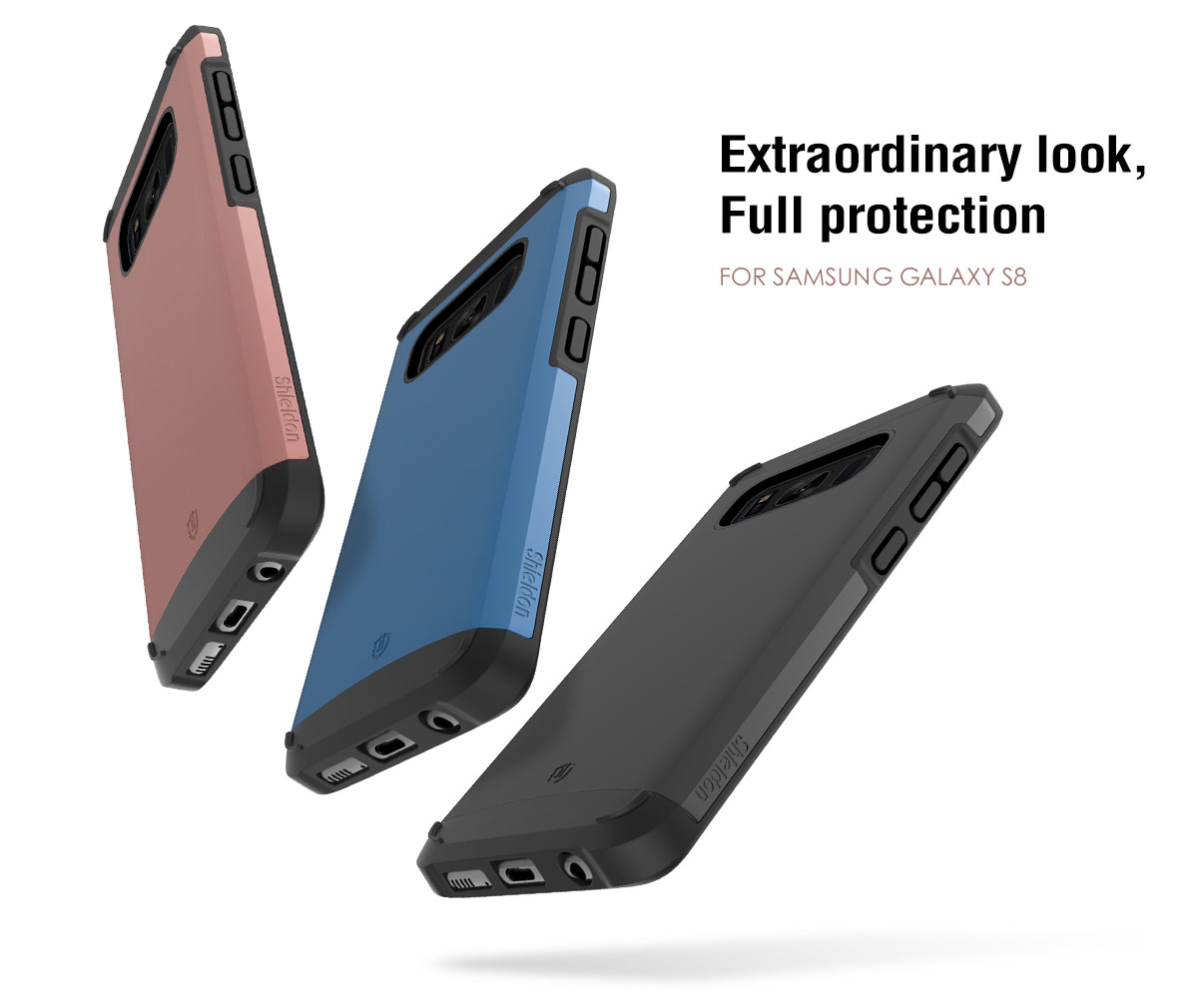 SHIELDON Galaxy S8 Drop Protection Case - Sunrise Series