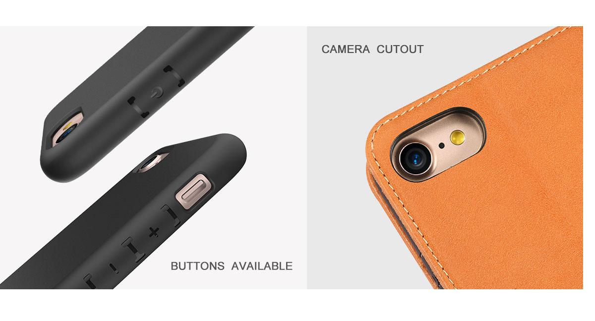 SHIELDON iPhone 8 Folio Case