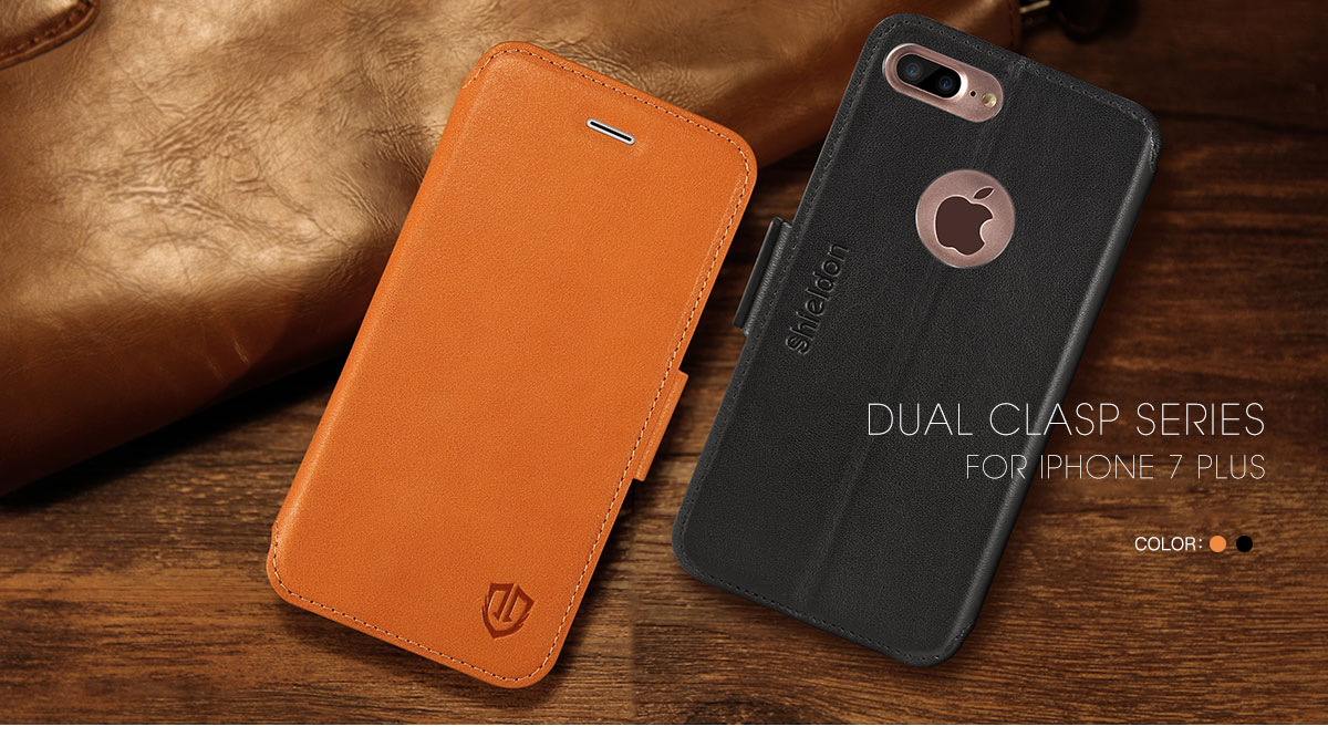 SHIELDON iPhone 7 Plus Flip Case