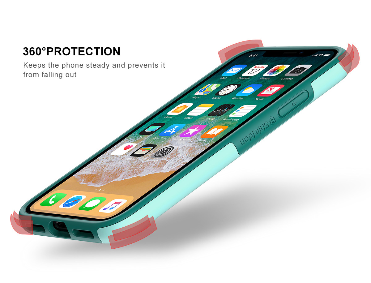 Shieldon iPhone X / iPhone XS  Drop Protection Case - Plateau Series