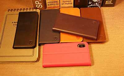 iPhone 8 Genuine Leather Wallet Case