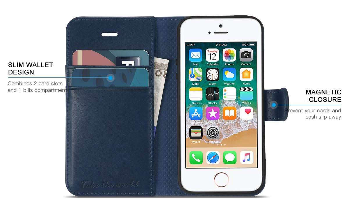 TUCCH iPhone SE / iPhone 5S / iPhone 5 Case