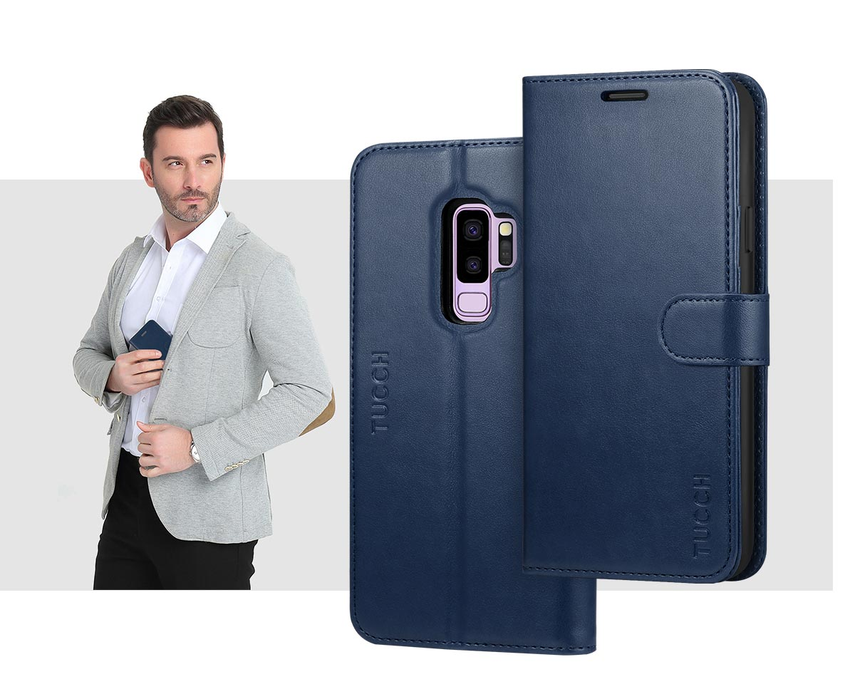 TUCCH Galaxy S9 Plus TPU Shockproof Interior Case
