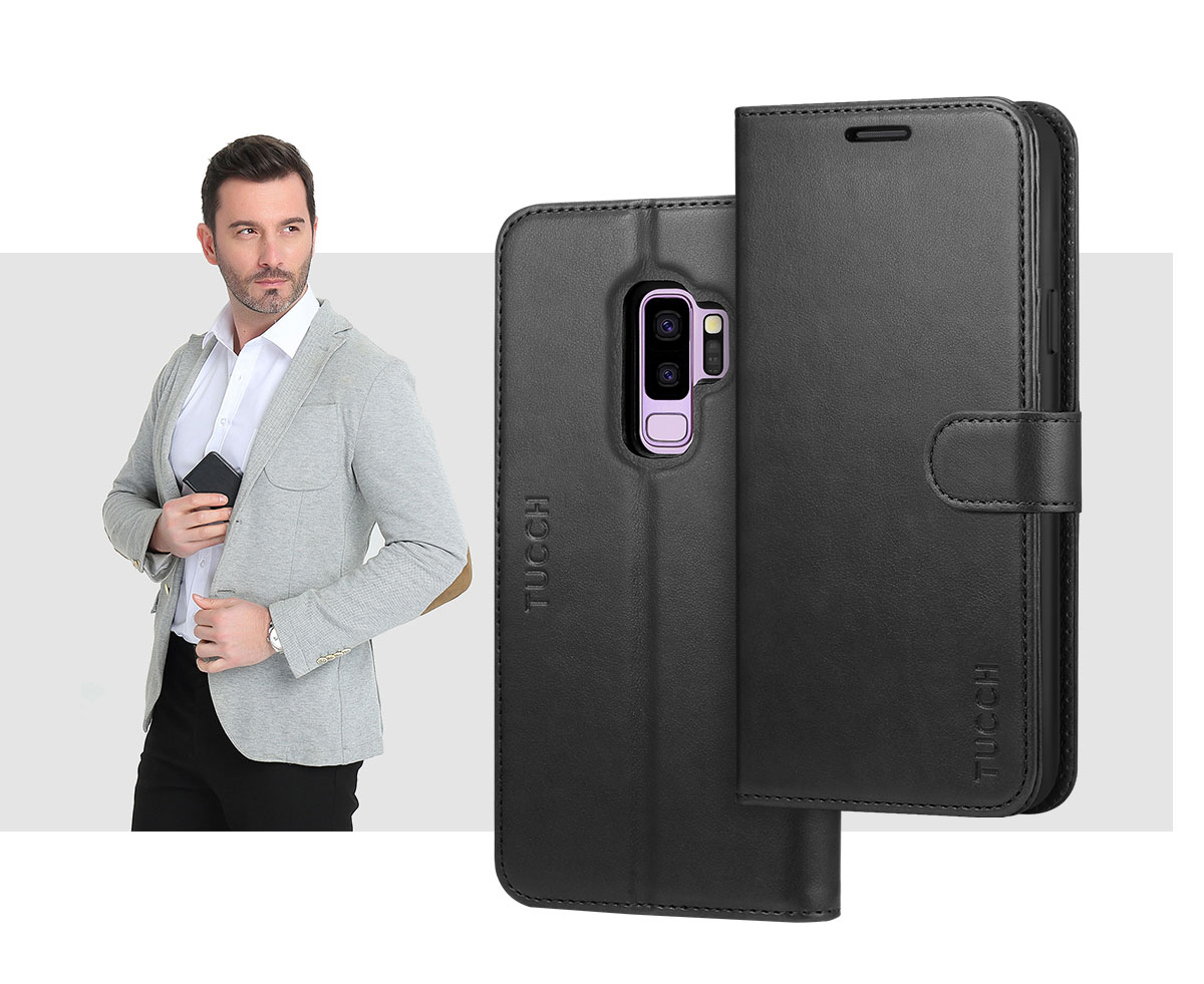 TUCCH SAMSUNG S9 Plus Wallet Case